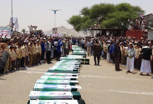 سازمان ملل: حمله به اتوبوس دانش آموزان یمن  «جنایت جنگی» است
